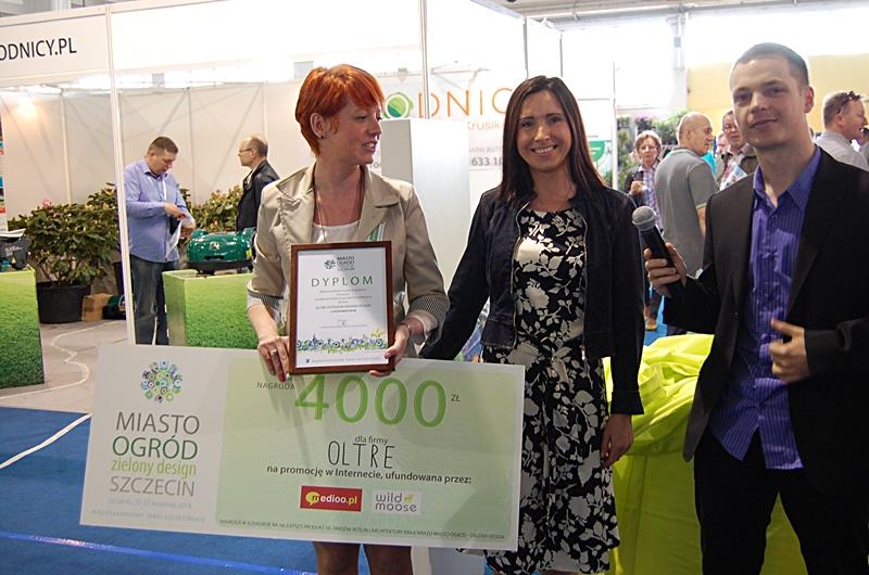 Nagroda dla firmy OLTRE za najlepszy produkt