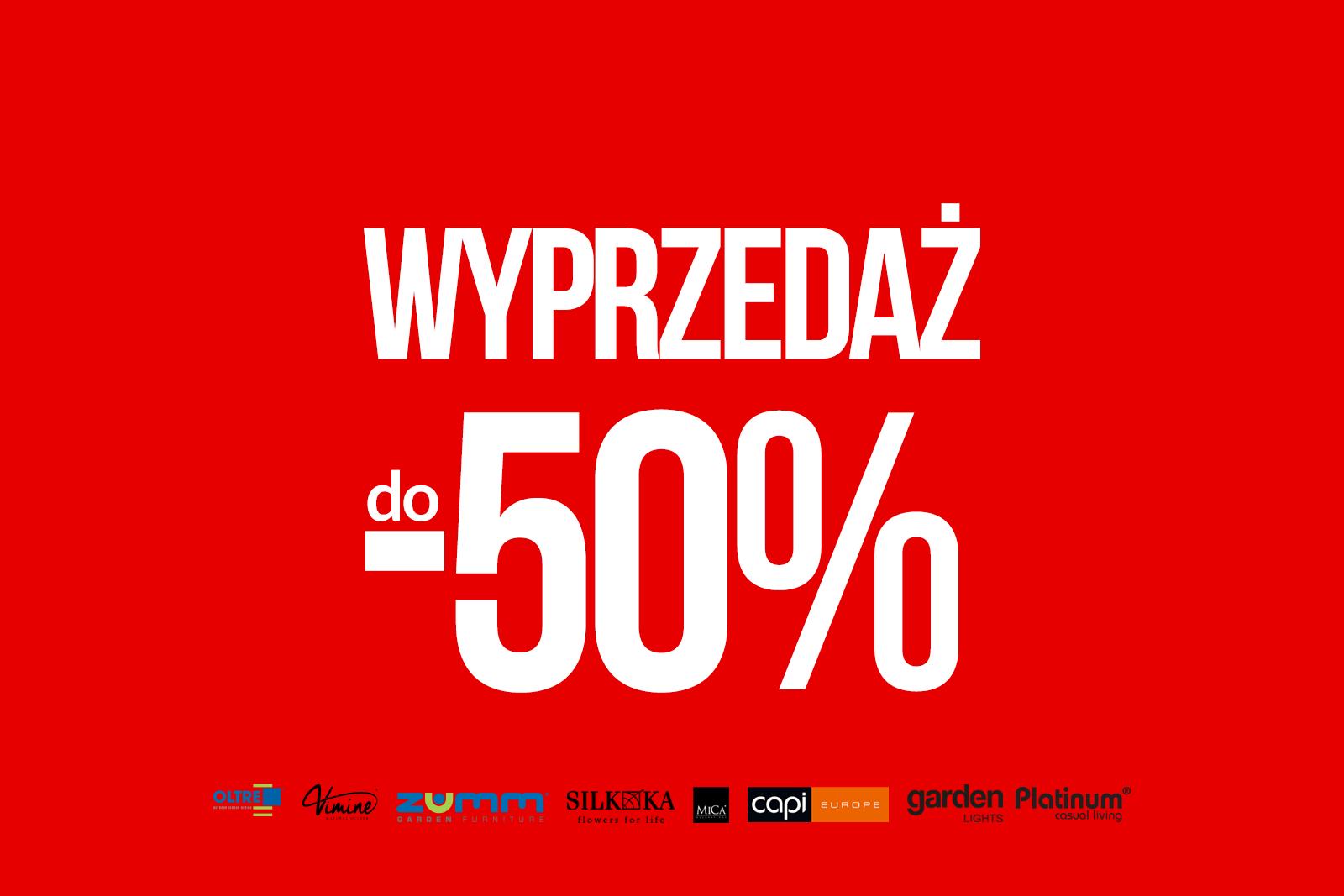 ✂️ Wielka Wyprzedaż 2017 do -50%!