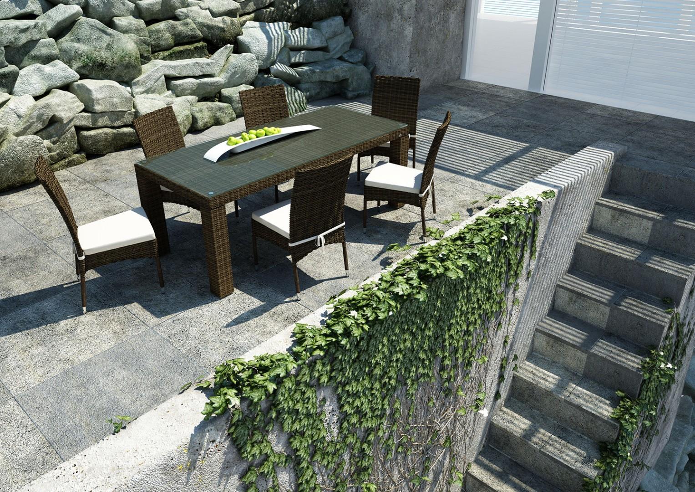 Na zdjęciu patio meble ogrodowe