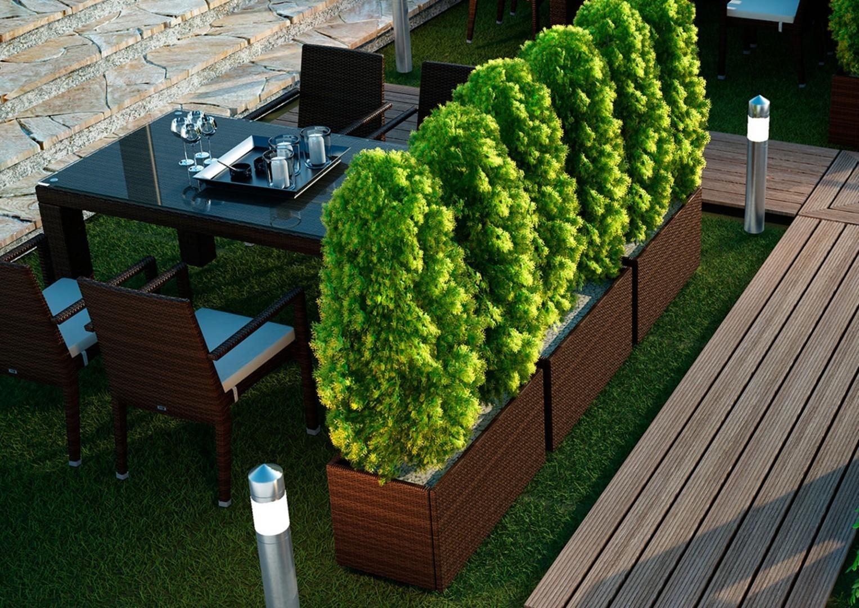 Na zdjęciu meble do ogrodu