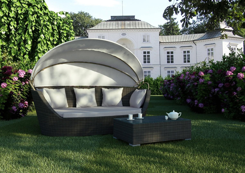 Na zdjęciu sofa do ogrodu