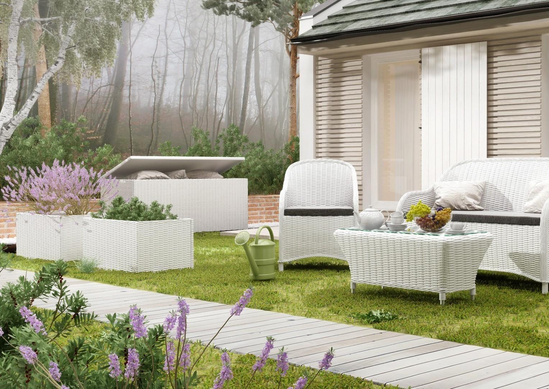 Skrzynia na poduszki ogrodowe