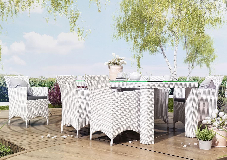 Zestaw ogrodowy stół i krzesła