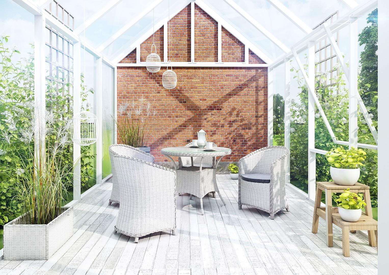 Białe meble z technorattanu – powiew świeżości w ogrodzie