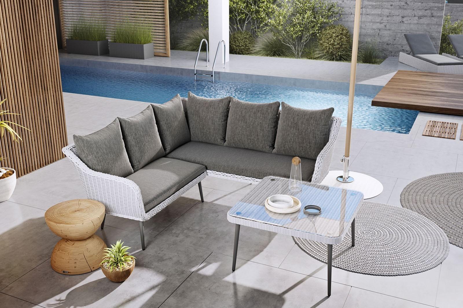 Skandynawskie meble ogrodowe – ciepły minimalizm na Twoim tarasie