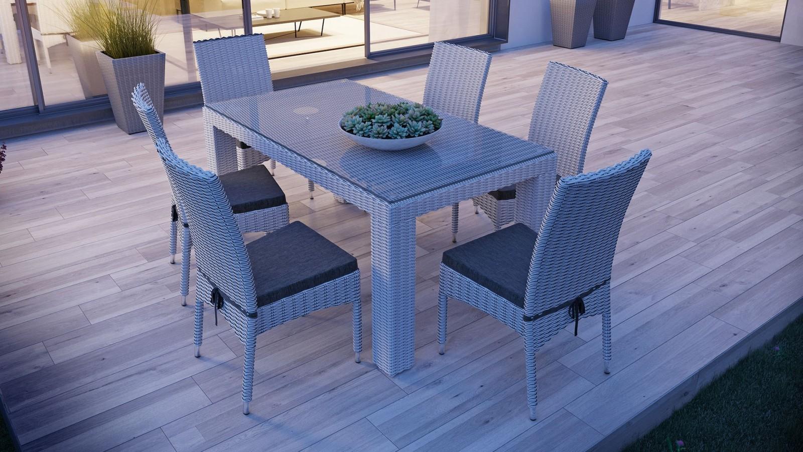 Stół i krzesła ogrodowe – znajdź najlepszy komplet do swojego ogrodu