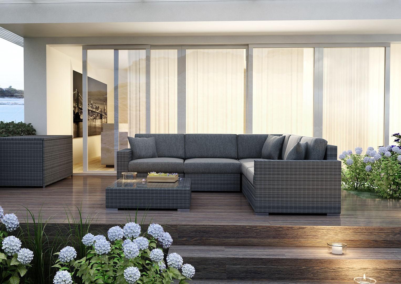 Kanapy ogrodowe – odrobina luksusu na co dzień