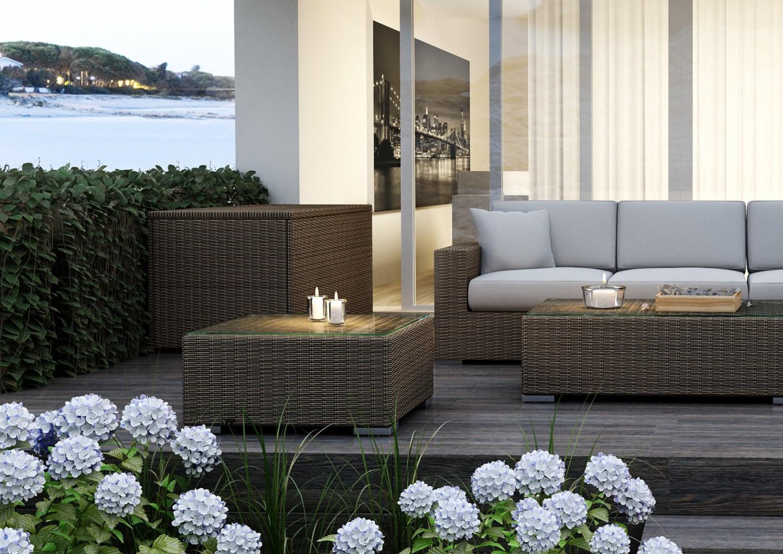 Modułowe meble ogrodowe – stwórz z nami luksusowy taras!