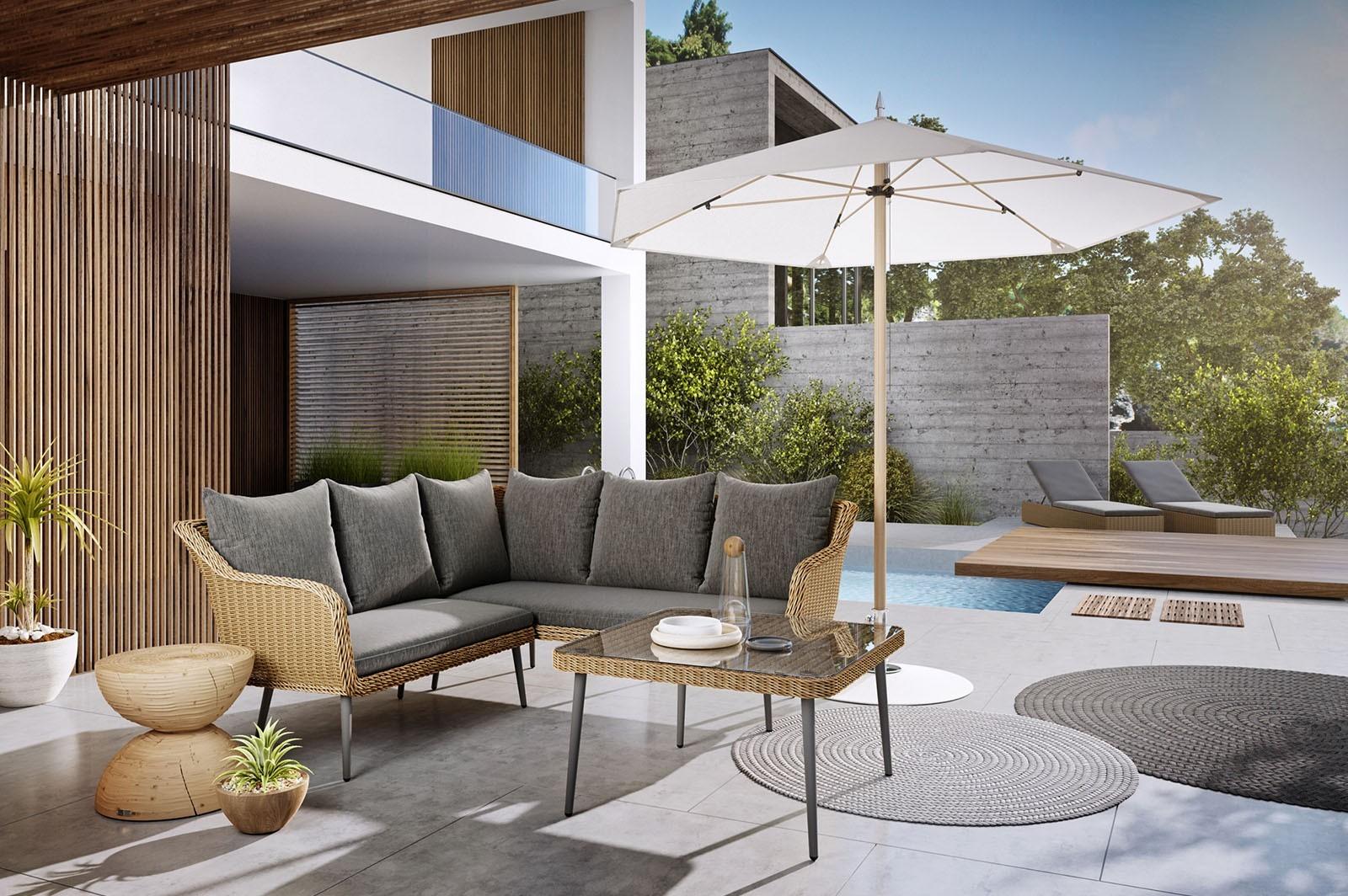 Meble ogrodowe wypoczynkowe: luksus, szyk i komfort