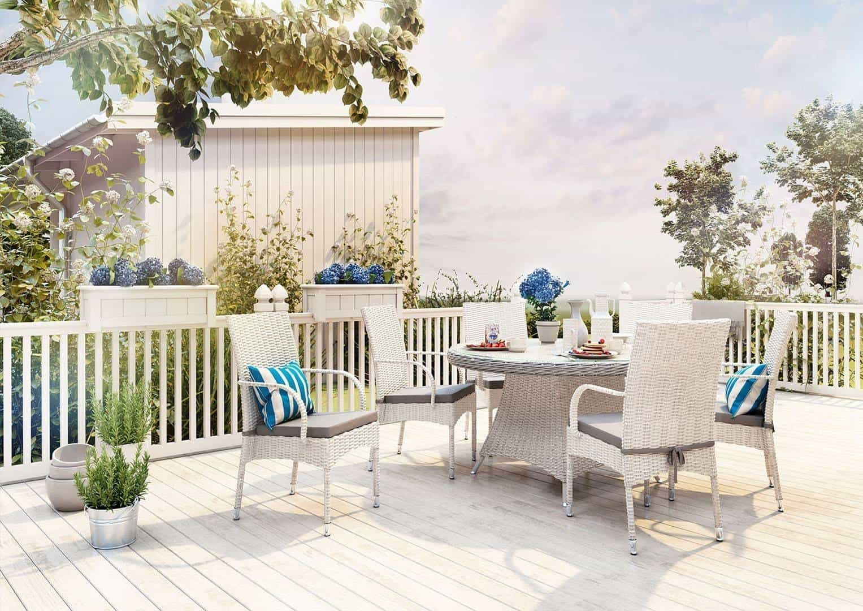 Komplet balkonowy – funkcjonalne i efektowne meble