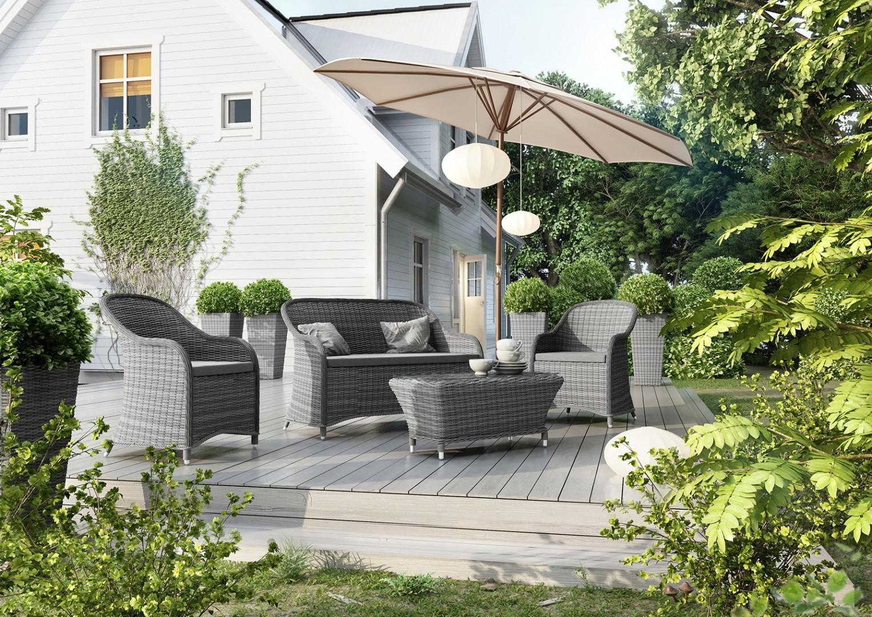 Kanapa na balkon – luksusowy ogród dla każdego