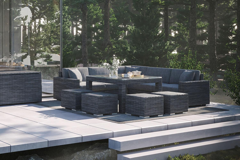 Ogród w stylu nowoczesnym – czas na nowe meble!
