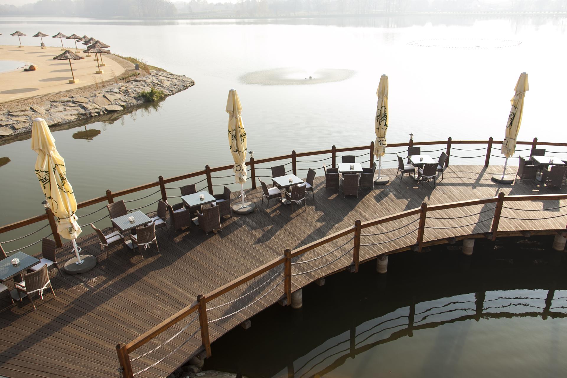 Na zdjęciu realizacja - Restauracja MOLO