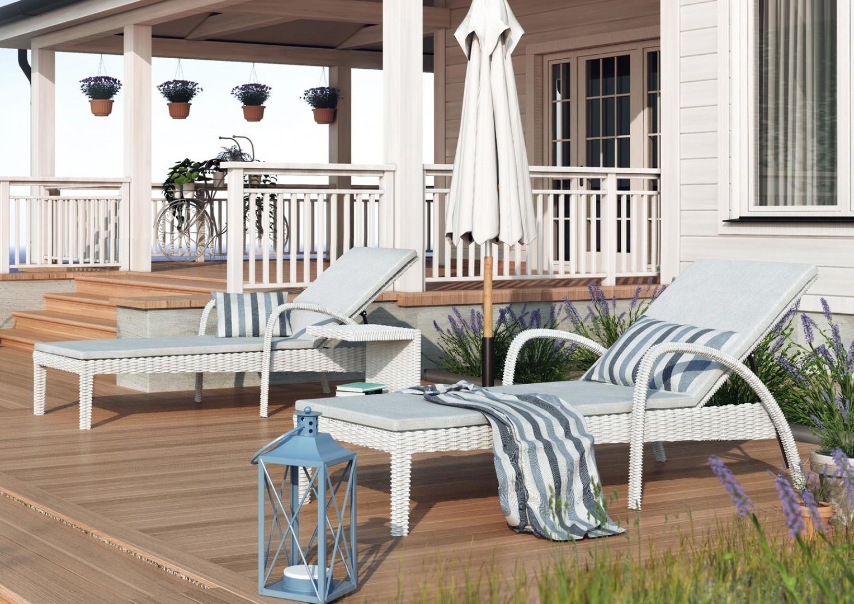 Leżaki ogrodowe z technorattanu – odpoczynek dla ciebie