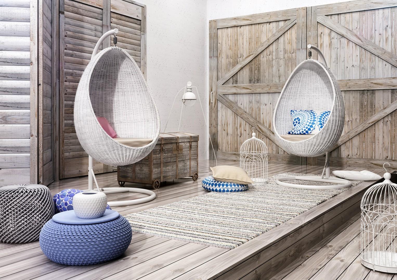 fotel ogrodowy Kokon
