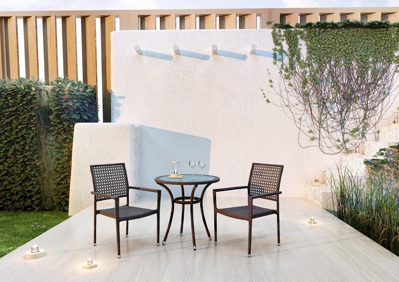 Krzesła na balkon LISBONA