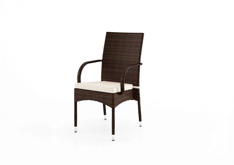Krzesło ogrodowe TRAMONTO Modern brąz