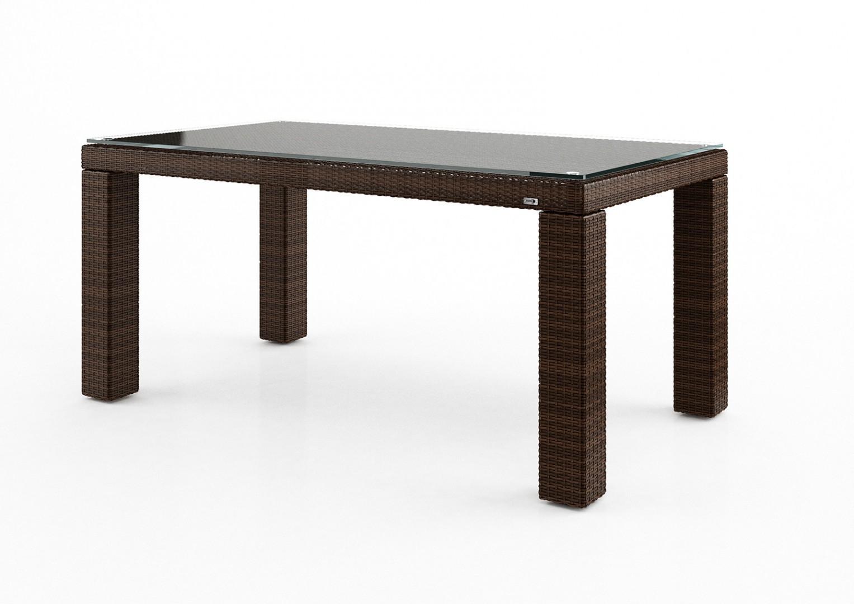 Stół ogrodowy RAPALLO Modern brąz
