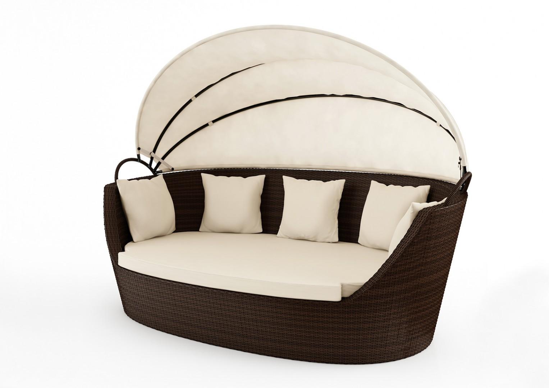 Sofa ogrodowa PORTOFINO Modern brąz