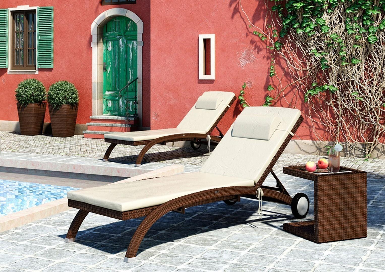 Stolik ogrodowy ROMEO Modern brąz