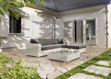 Meble ogrodowe MILANO II Royal biały 2