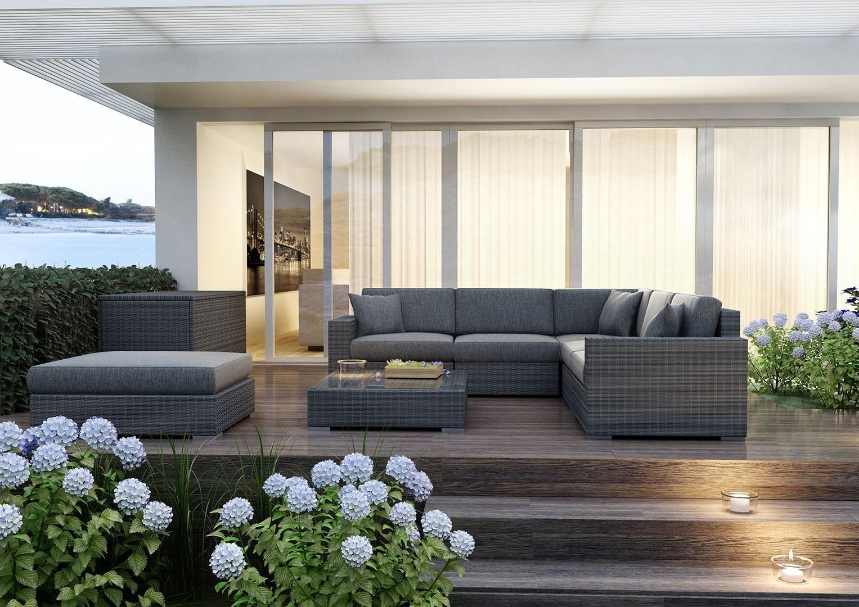 taras inspiracje sofa Milano