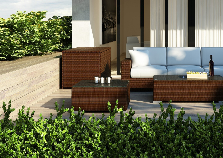 Luksusowe meble ogrodowe - skrzynia SCATOLA