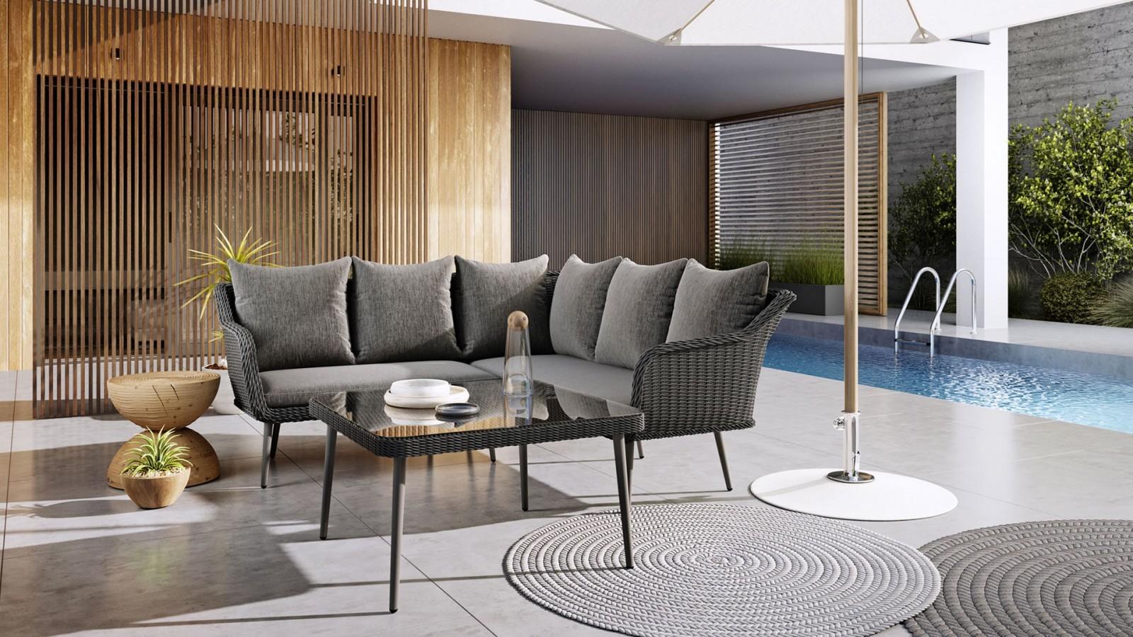 kanapa ogrodowa komplet Imola