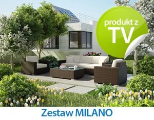 Zestaw wypoczynkowy MILANO - Oltre Outdoor Indoor Design